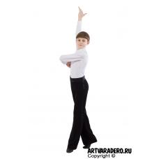 Брюки для мальчиков классические для бальных спортивных танцев р.28-30