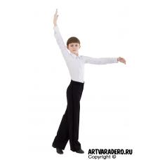 Брюки для мальчиков классические для бальных спортивных танцев р.32-38
