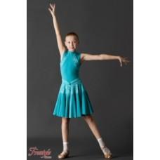 Рейтинговые платья Платье рейтинговое с гипюром короткий рукав