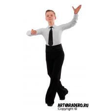 Брюки для мальчиков классические для бальных спортивных танцев р.40-50