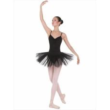 TR20 Трико балетное с отверстием 80DEN