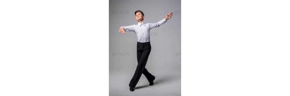 Брюки мужские для бальных спортивных танцев